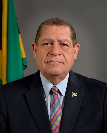 The Honourable Audley Shaw CD, MP.