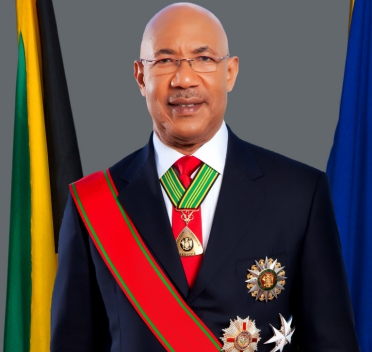 His Excellency the Most Hon. Sir Patrick Linton Allen, ON, GCMG, CD, KSt.J