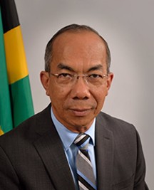 The Honourable Dr. Horace Chang MP.