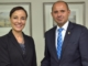 Costa Rica's Vice Minister of Foreign Affairs Calls on Minister Johnson Smith