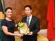 JOHNSON SMITH BIDS AMBASSADOR NIU QINGBAO FAREWELL