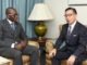 HMOS CHARLES RECEIVES COURTESY CALL FROM AMBASSADOR YAMAZAKI
