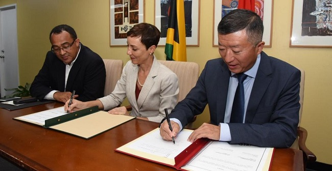 JAMAICA AND CHINA SIGN AGREEMENT FOR THE CONSTRUCTION OF WESTERN CHILDREN'S HOSPITAL
